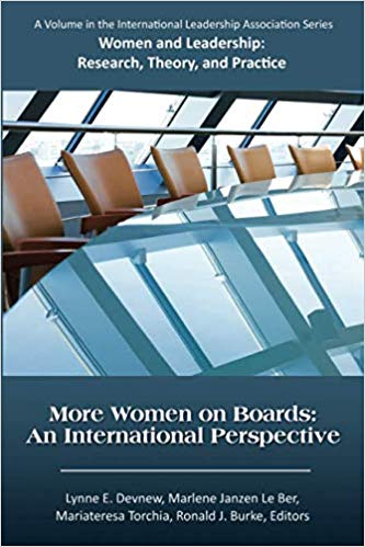 More Women on Boards: An International Perspective Bookcover