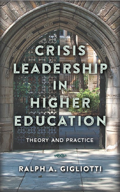 Crisis Leadership in Higher Education Bookcover