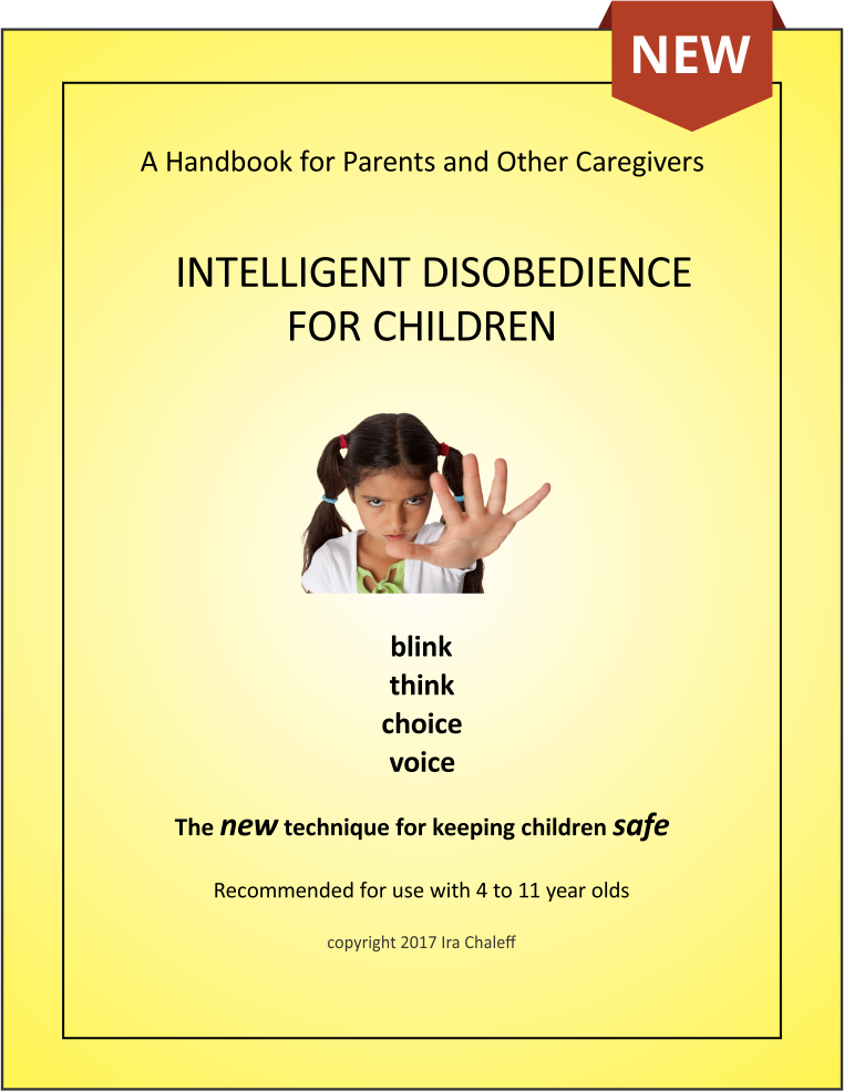 Intelligent Disobedience for Children Bookcover